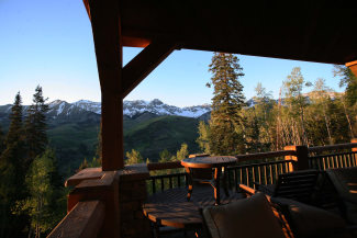 Equity Estates Telluride Deck View
