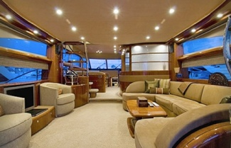 Inside Viking Sport Cruiser