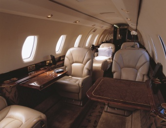 Citation X courtesy NetJets