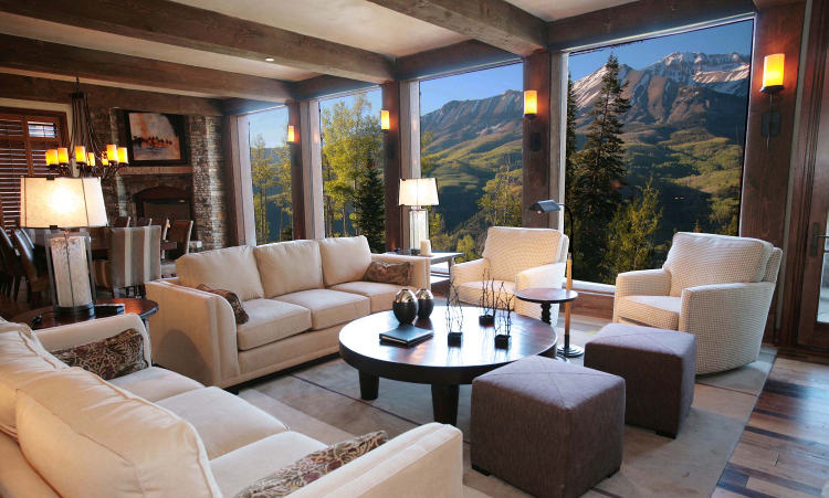 Equity Estates Telluride Living Room