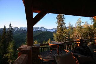 Equity Estates Telluride Deck View