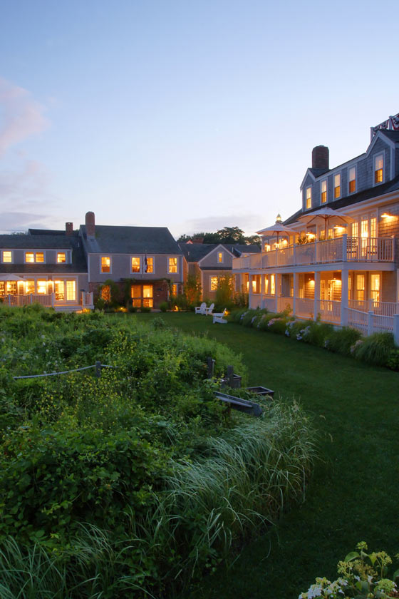 Quintess Nantucket residence evening