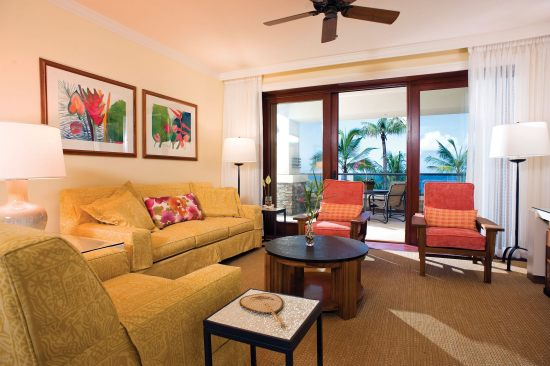 Ritz-Carlton Club Kapalua Bay Living Room