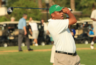 Doc Rivers Golfing