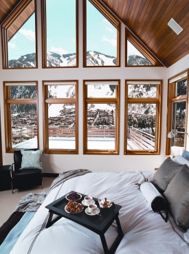 Aspen Bedroom Window View