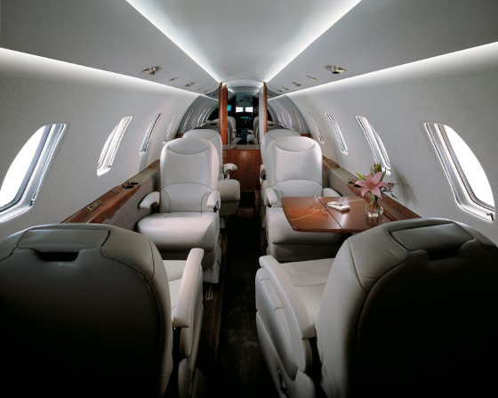 AirSprint Citation XLS Interior