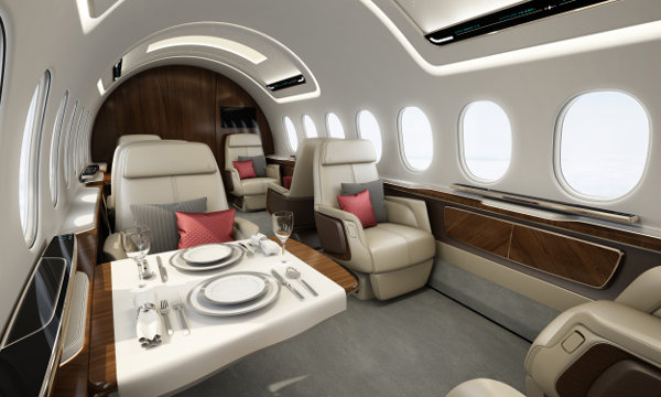 Aerion AS2 cabin