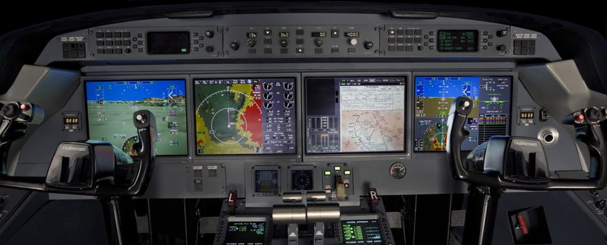 Gulfstream G450 Flight Deck
