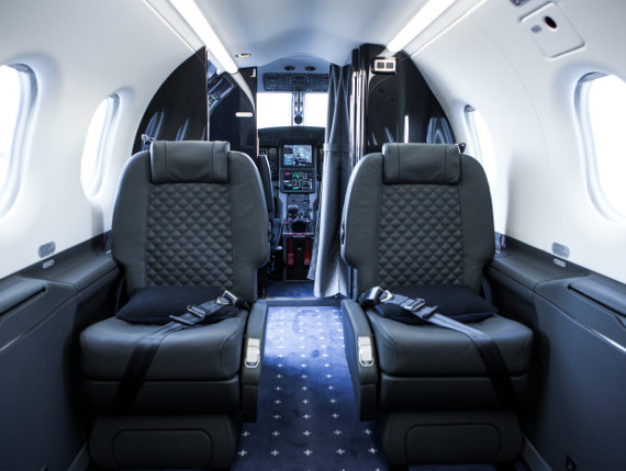 Surf Air Pilatus Interior