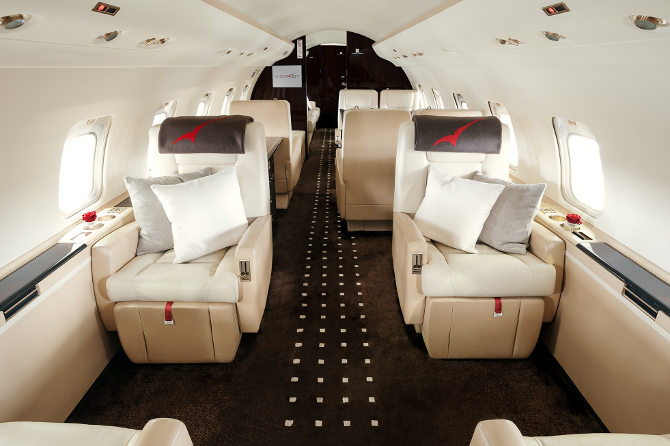 2013 Challenger Interior >> VistaJet Adds 50th Long Range Aircraft