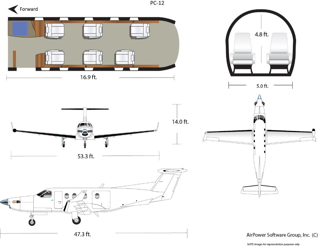 pilatus PC12 specs. The PC-12 ...