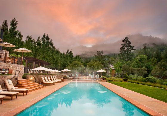 Calistoga Ranch pool